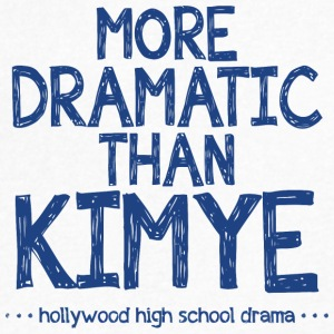 Hollywood High School Drama - Men's V-Neck T-Shirt by Canvas