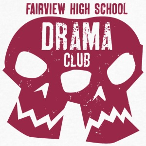Fairview High School Drama Club - Men's V-Neck T-Shirt by Canvas