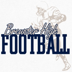 Brewster High Football - Men's V-Neck T-Shirt by Canvas