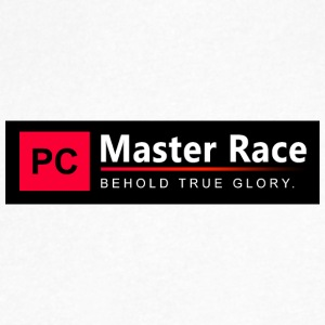 PC Master Race - Men's V-Neck T-Shirt by Canvas