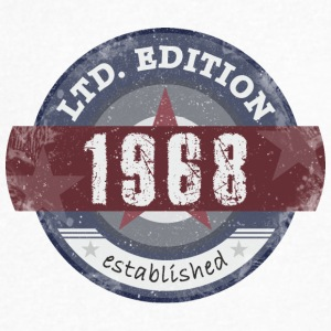 LtdEdition 1968 - Men's V-Neck T-Shirt by Canvas