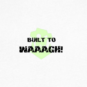Built To Waaagh! - Men's V-Neck T-Shirt by Canvas