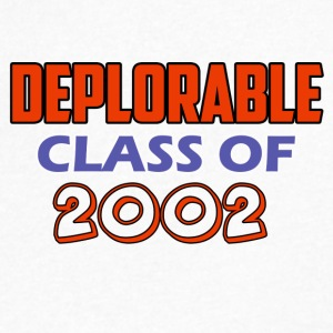 class of 20002 design - Men's V-Neck T-Shirt by Canvas