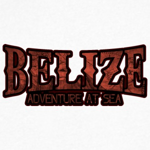 Belize Adventure at Sea - Men's V-Neck T-Shirt by Canvas