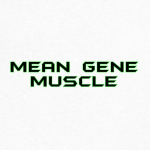 Mean Gene - Men's V-Neck T-Shirt by Canvas