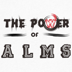The Power of ALMS - Men's V-Neck T-Shirt by Canvas