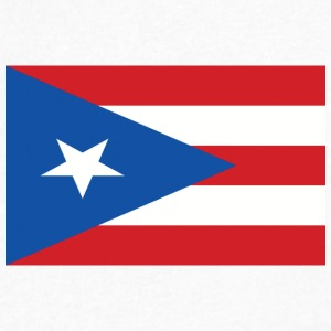 puerto rico flag 121400710 - Men's V-Neck T-Shirt by Canvas