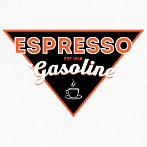 Espresso Gasoline - Men's V-Neck T-Shirt by Canvas