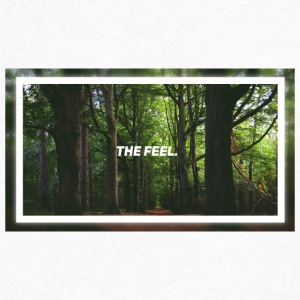 The Feel. - Men's V-Neck T-Shirt by Canvas