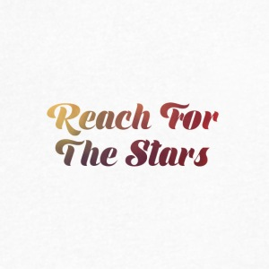 Reach For The Stars - Men's V-Neck T-Shirt by Canvas