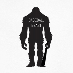 Baseball Beast - Men's V-Neck T-Shirt by Canvas