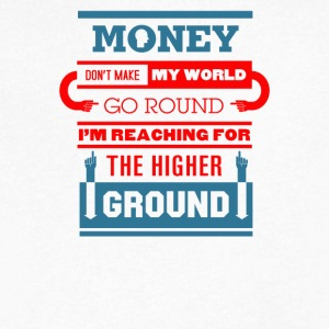 Money go round the higher - Men's V-Neck T-Shirt by Canvas