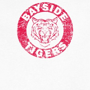 Bayside Tigers - Men's V-Neck T-Shirt by Canvas