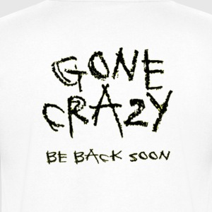 Can a little bit of crazy be good? - Men's V-Neck T-Shirt by Canvas