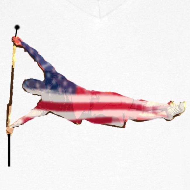 usa human flag png