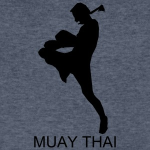 muaythai006 - Men's V-Neck T-Shirt by Canvas