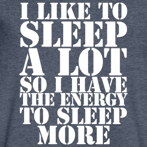 I Like To Sleep - Men's V-Neck T-Shirt by Canvas