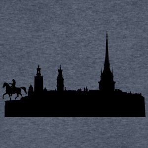 Stockholm silhouette - Men's V-Neck T-Shirt by Canvas