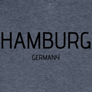 Hamburg - Men's V-Neck T-Shirt by Canvas