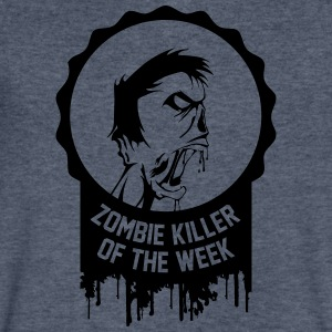 Zombie killer of the week award - Men's V-Neck T-Shirt by Canvas