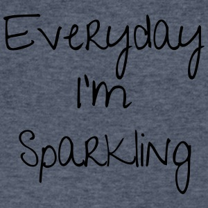 Everyday I'm Sparkling - Men's V-Neck T-Shirt by Canvas