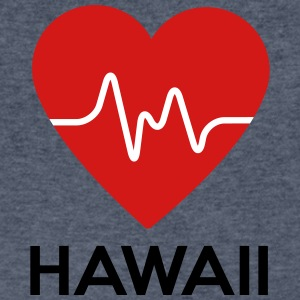 Heart Hawaii - Men's V-Neck T-Shirt by Canvas