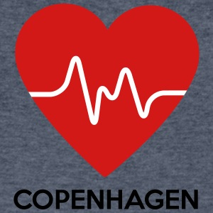 Heart Copenhagen - Men's V-Neck T-Shirt by Canvas