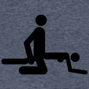 Sex positions - Men's V-Neck T-Shirt by Canvas