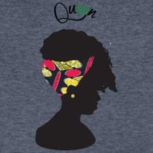 Queen - Men's V-Neck T-Shirt by Canvas