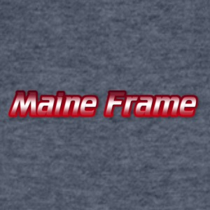 Maine Frame - Men's V-Neck T-Shirt by Canvas