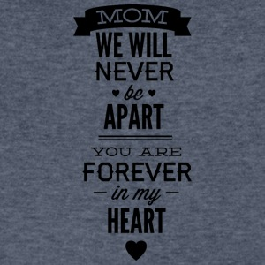 mom_we_will_never_apart - Men's V-Neck T-Shirt by Canvas