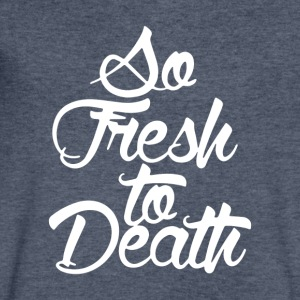 So Fresh to Death - Men's V-Neck T-Shirt by Canvas