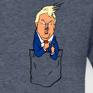 Lord Trump Pocket President - Men's V-Neck T-Shirt by Canvas