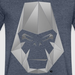 Urban Gorilla Wear Poly fill - Men's V-Neck T-Shirt by Canvas