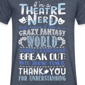 Theatre Nerd - Men's V-Neck T-Shirt by Canvas