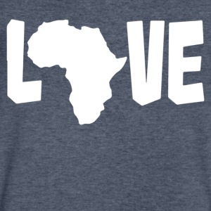 Love Africa - Men's V-Neck T-Shirt by Canvas