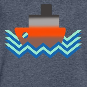 sea - Men's V-Neck T-Shirt by Canvas