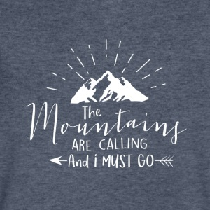 Mountains are calling - Men's V-Neck T-Shirt by Canvas