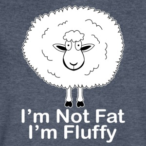 I'm not Fat, I'm Fluffy! - Men's V-Neck T-Shirt by Canvas