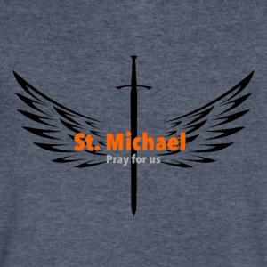 St. Michael Archangel - Men's V-Neck T-Shirt by Canvas