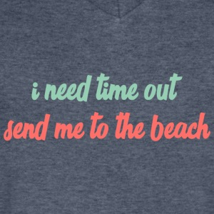 Send me to the beach! - Men's V-Neck T-Shirt by Canvas