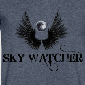 sky watcher - Men's V-Neck T-Shirt by Canvas