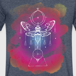 Cicada of Time - Men's V-Neck T-Shirt by Canvas