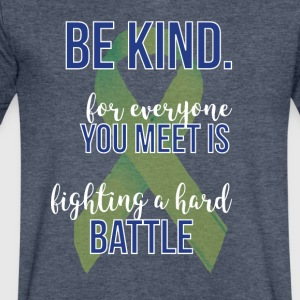 May is Mental Health Awareness Month! Apparel - Men's V-Neck T-Shirt by Canvas