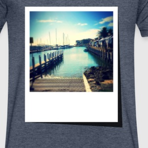 Summer Marina - Men's V-Neck T-Shirt by Canvas