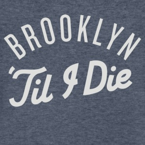 Brooklyn Till I Die - Men's V-Neck T-Shirt by Canvas