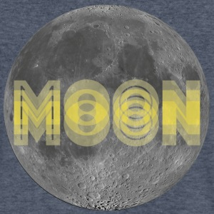 Moon - Men's V-Neck T-Shirt by Canvas