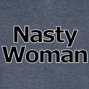Nasty Woman - Men's V-Neck T-Shirt by Canvas