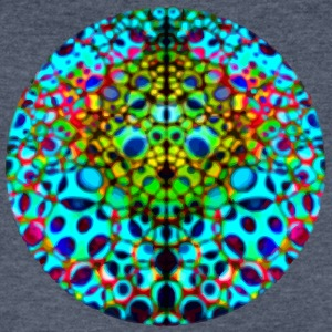 Psychedelic Sphere - Men's V-Neck T-Shirt by Canvas
