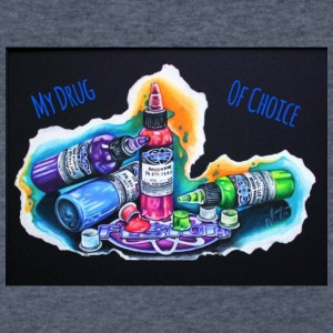 drug of choice - Men's V-Neck T-Shirt by Canvas